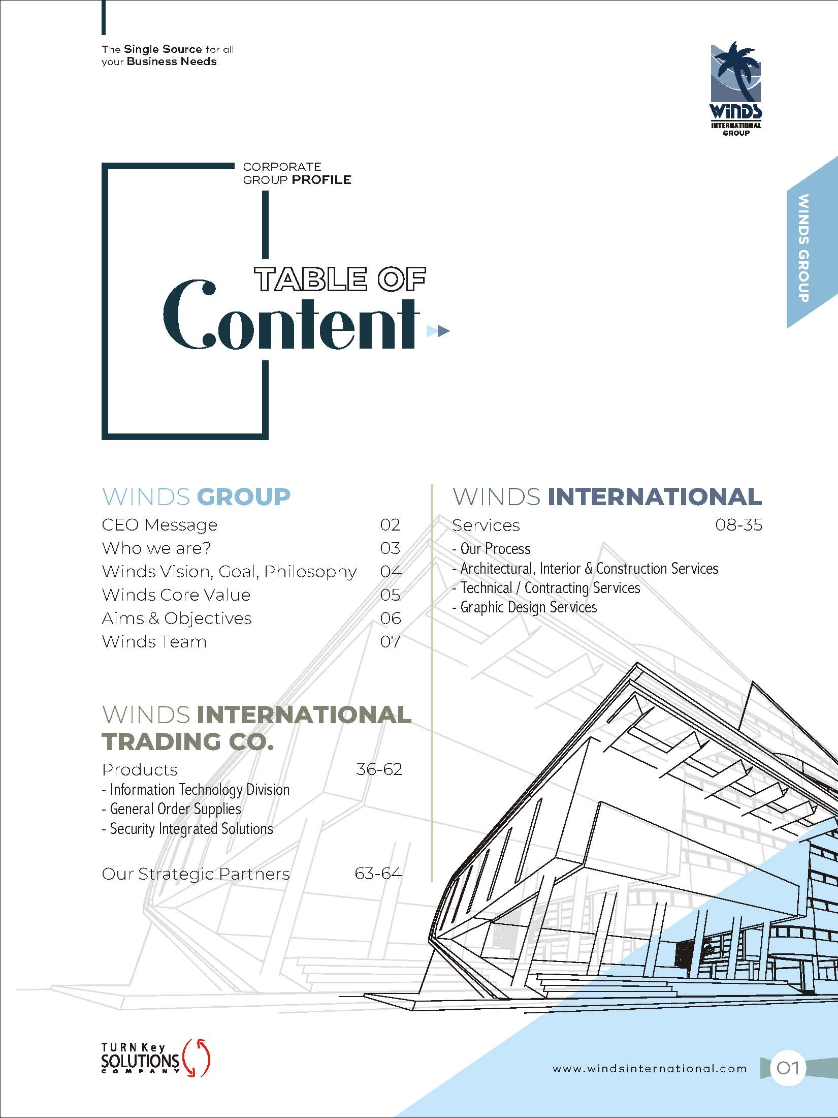 Winds Intl | Interior Designer | Architecture | Construction